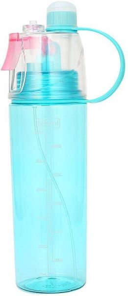 Mist Spray Water Bottle, Blue