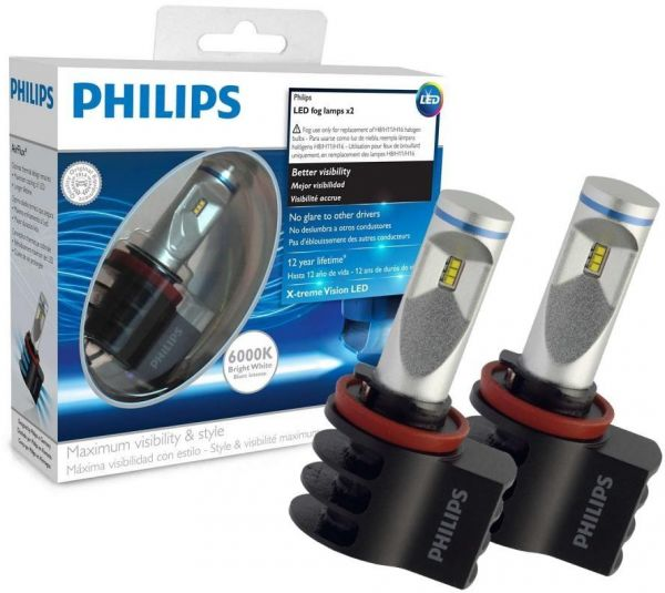 philips h8 h11 h16 led x treme ultinon 6000k souq uae. Black Bedroom Furniture Sets. Home Design Ideas