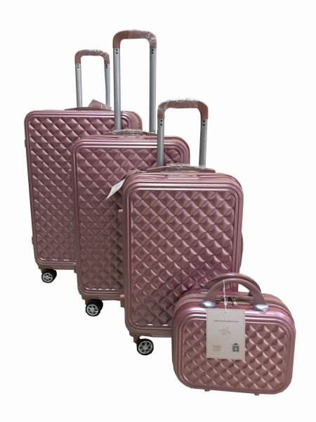 19fcd6bbc78c Love Travel Luggage Trolley bags 3 Pieces Set and 1 Piece Beauty Case