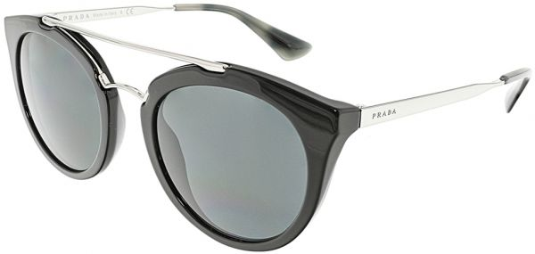 681aa8597 Prada Cinema Oval Women's Sunglasses - PR23SS-1AB1A1-52 - 52-22-140 mm |  KSA | Souq