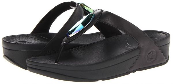 142a20c34 FitFlop Black Thong Slipper For Women