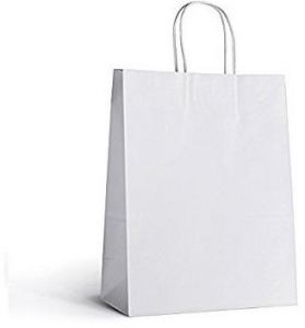 White Gift Paper Bags Large
