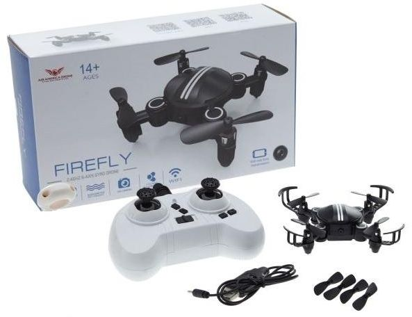 Firefly 24G 4CH 6 Axis Small Fold Able RC Drone With Altitude Hold Mode Without Camera