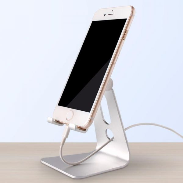 Paamsons Mobile Metal Stand High Quality Aluminium Alloy Material 180 Degree Adjule Anti Slip Protection Table Mount Usable In Office And Home Healthy