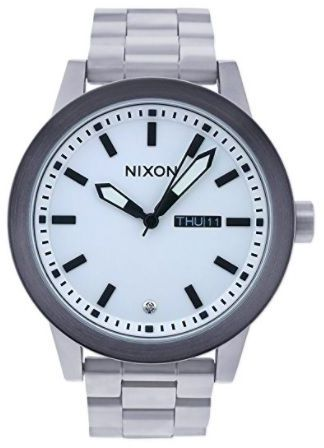 948adc481 Nixon Quartz Analog Casual Watch for Men , Stainless Steel Band ...