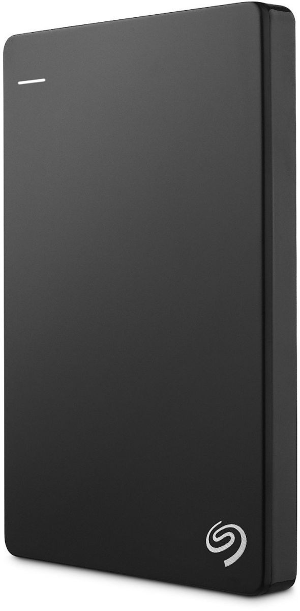 Seagate 1 TB Backup Plus USB 3.0 Slim Portable Hard Drive - Black [STDR1000200]