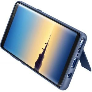 Samsung Galaxy Note 8 Protective Standing Cover Case - Deep Blue