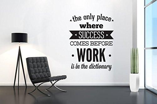 Office Wall Decals Home Decor Waterproof Wall Stickers