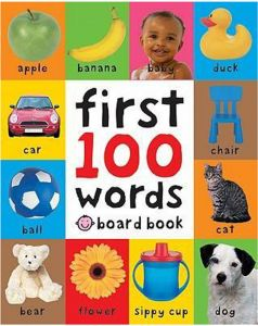 First 100 Soft to Touch Words by Roger Priddy - Hardcover