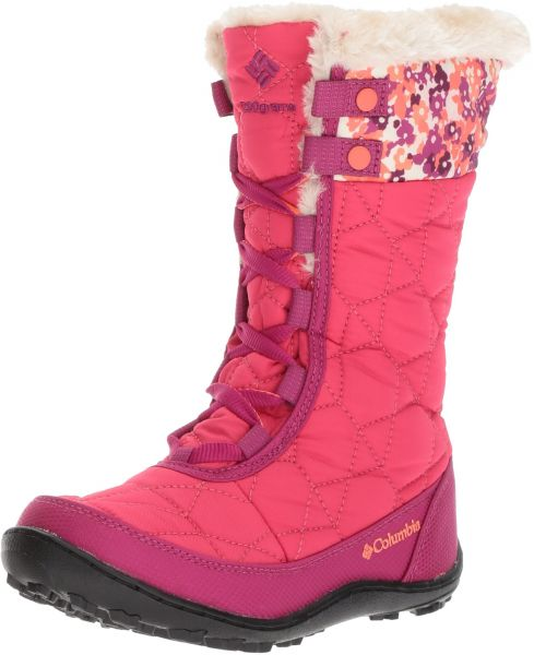 995841d62a2c Columbia Girls  Youth Minx Mid II Waterproof Omni-Heat Snow Boot ...