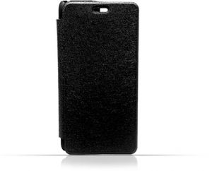 LG G Flex 2 Black Frosted PU Leather Flip Cover