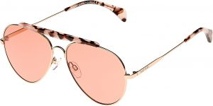 20d9bb44451e Tommy Hilfiger Aviator Unisex s Sunglasses - TH 1454 S-DDB-58-U1 -  58-15-145mm
