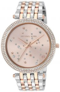 bc8a029dcd9b Michael Kors Women Rose Gold Dial Stainless Steel Band Watch - MK3726