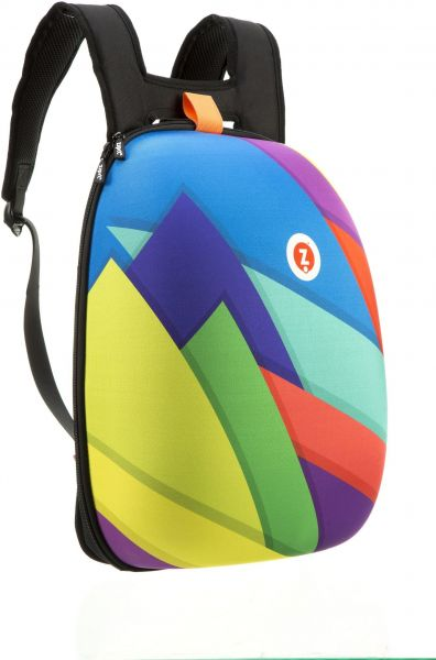 35352e74e270 Zipit Soft Shell Backpack - Colourful Shapes