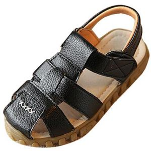 2130bfc9ab62 Black Comfort Sandal For Boys