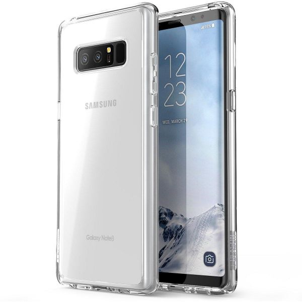 Samsung Galaxy Note 8 Case Cover , i-Blason , Clear Back Panel , Clear  Bumper