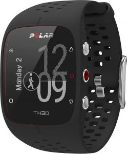 1082e7976 Polar M430 GPS Sport Watch with 6 LED Optical HR Sensor - Black | السعودية  | سوق