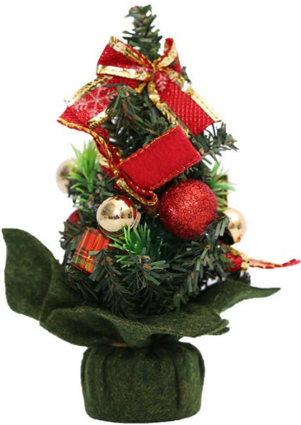 20cm Mini Christmas Tree Small Pine New Year Table Decoration