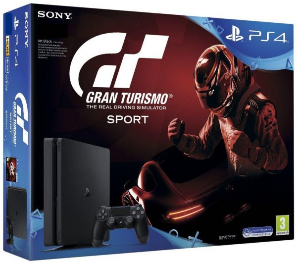 sony playstation 4 slim 500 gb gran turismo sport bundle. Black Bedroom Furniture Sets. Home Design Ideas