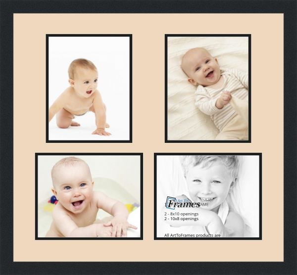 ArtToFrames Alphabet Photography Picture Frame with 4 - 8x10 ...