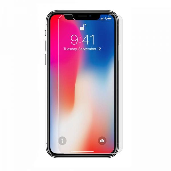 release date 0617d bad26 Protective Tempered Glass HD Clear Screen Protector For Apple iPhone X  (iPhone 10) - Clear