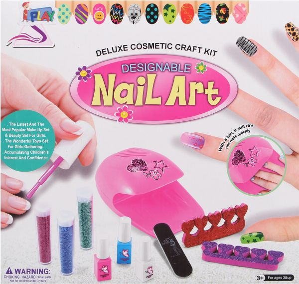 Souq | Deluxe Cosmetic Craft Kit Designable Nail art ZD87026 For ...