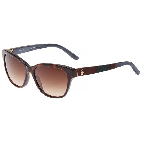 77d9f51d94 Polo Ralph Lauren Square Women s Sunglasses - GFF1042 002-56 - 16 ...