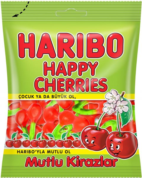 Haribo Happy Cherries 160gm