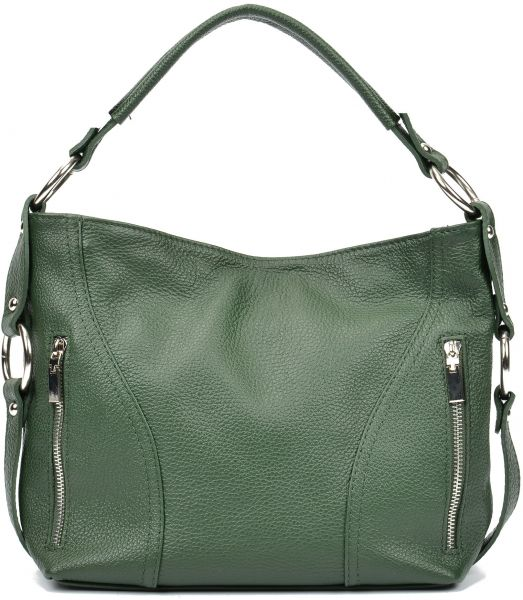 a3aabe48791 Carla Ferreri AW17 CF 1233-VERDE Tote Bags For Women - Leather, Dark ...