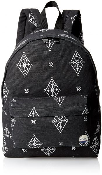 cb58c666ba Roxy Women s Sugar Baby Canvas Printed Backpack