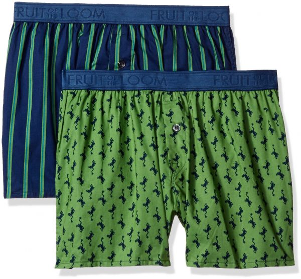 1ddde836d1ffe Fruit of the Loom Men s Cotton Stretch Boxer (Pack of 2)
