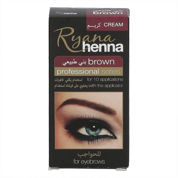 Ryana Henna Brown Eyebrow Color Shaping 30 Ml Souq Uae