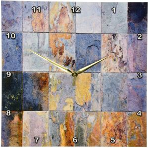 3dRose Grey and Gold Arrows Pattern 8-Inch Ceramic Tile ct/_219529/_3