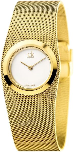 Calvin klein suspension watch gold