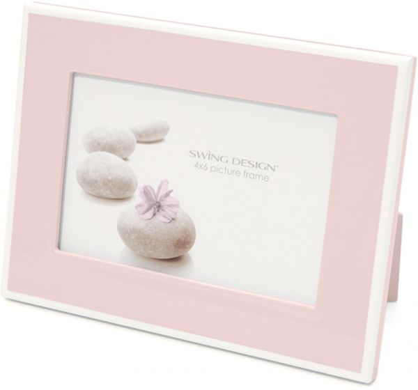 Swing Design Elle Lacquer Picture Frame 4 by 6-Inch FRELLCY4600SSSW ...
