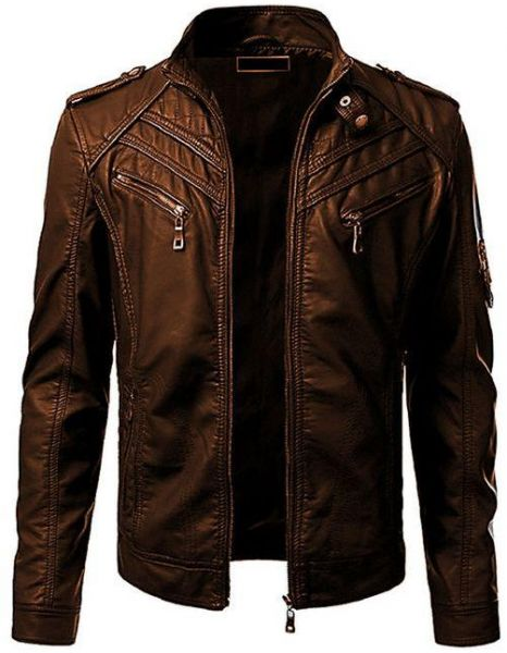 Sale on leather jacket, Buy leather jacket Online at best price in ...