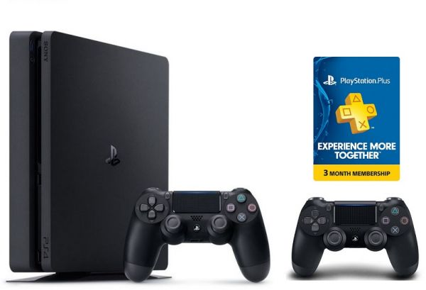 Sony Playstation 1TB Slim   Extra Controller   3 Month Playstation Plus Voucher