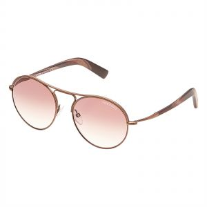 f6ed1c9f8cb0 Tom Ford Jessie Oval Unisex Sunglasses - Brown Gradient Lens