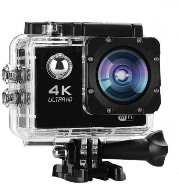 16mp 4k ultra hd 1080p wifi waterproof 30m action camera. Black Bedroom Furniture Sets. Home Design Ideas