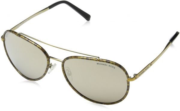 0120101fab Michael Kors Aviator Women s Sunglasses - MK1019-116-45A-59 - 59-15-135mm