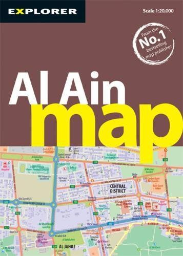 Price Review and Buy Al Ain Map City Maps KSA Souq