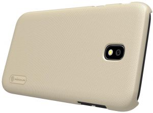 Samsung Galaxy J3 Pro (J330)/J3(2017) Nillkin cover Shield Back Case [Gold Color] BY ONLINEPHONE
