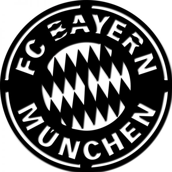 Souq Laserarts Wooden Wall Hangings Bayern Munich 12090cm 3