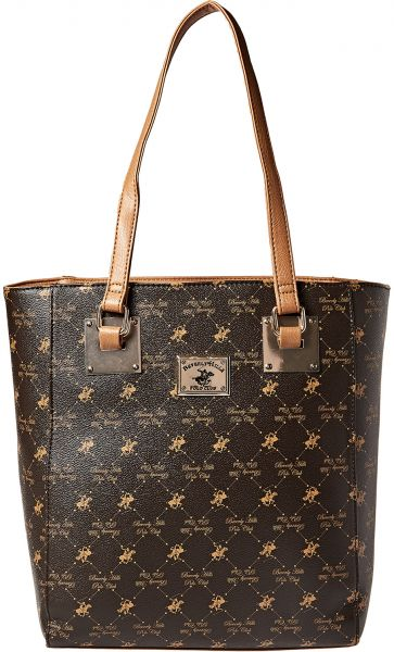 34093b3331fb Beverly Hills Polo Club Tote Bag for Women - Brown