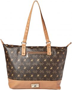 4a9f28d46851 Beverly Hills Polo Club Tote Bag for Women - Brown
