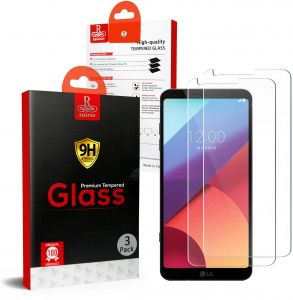LG G6 Remson Tempered Glass Screen Protector 3 PACK - Clear