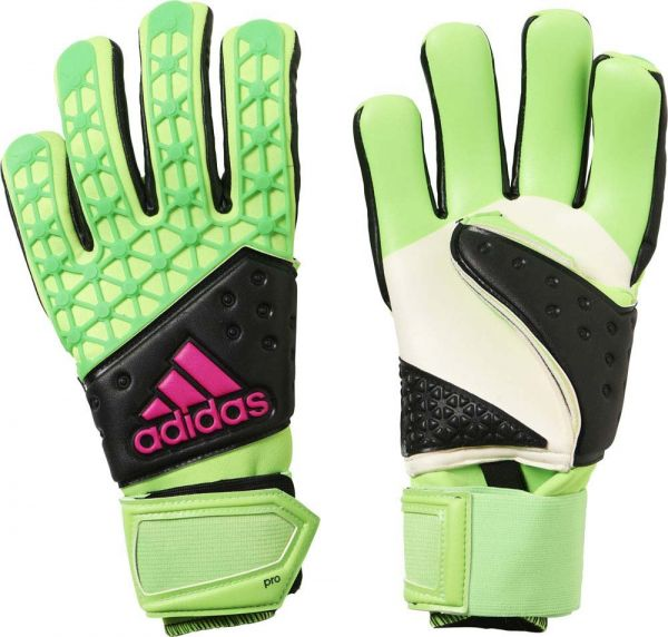 7fd478bee Adidas Ace Zones Pro Goalkeeper Gloves - Adult - Solar Green/Black ...