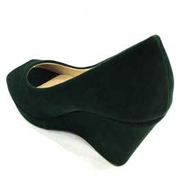 6f1aed4a4950 Dark Green Wedge For Women
