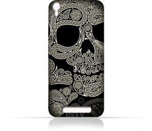 great fit 2e6a8 62418 AMC Design Lava Iris 820 TPU Silicone Case With Skull & Piesley ...