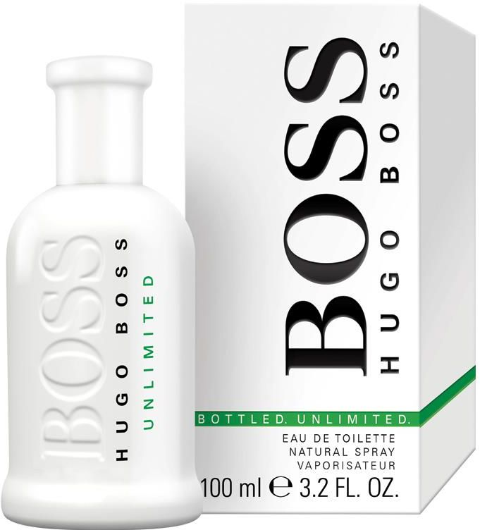 Unlimited by Hugo Boss for Men - Eau de Toilette , 100ml
